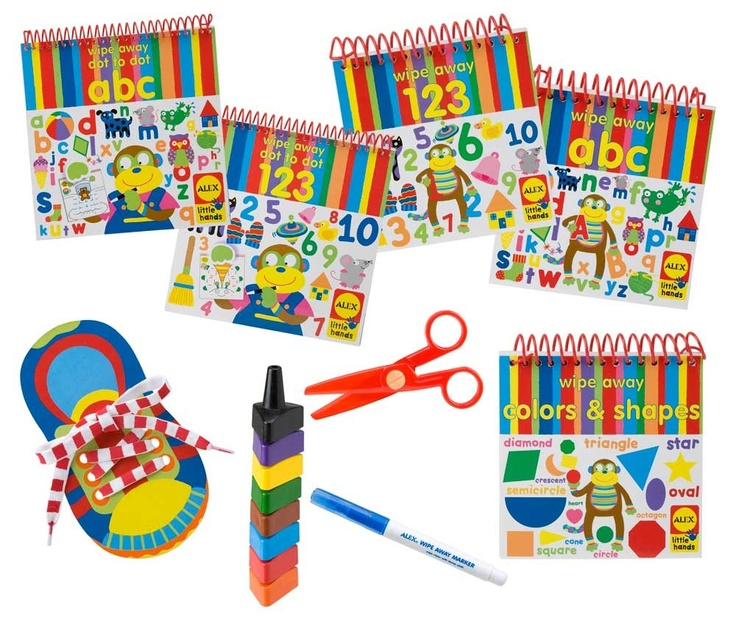 Alex Ready,Set,School ALX-1454 - I would love to get this for my preschool son!