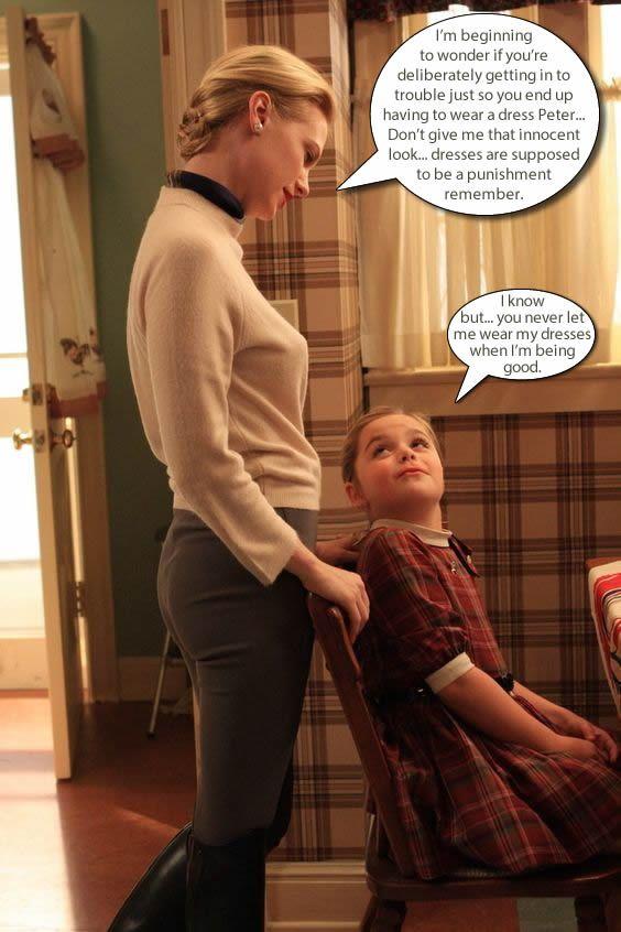 When Petticoat Punishment backfires.