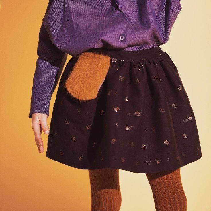 Shan and Toad - Luxury Kidswear Shop - Leoca Paris Orange Tights