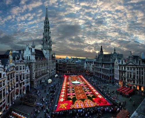 Brussels: Flowercarpet, Favorite Places, Brussels Belgium, Biggest Carpet, Flower Carpet, Carpets, Travel, Flowers, Photo