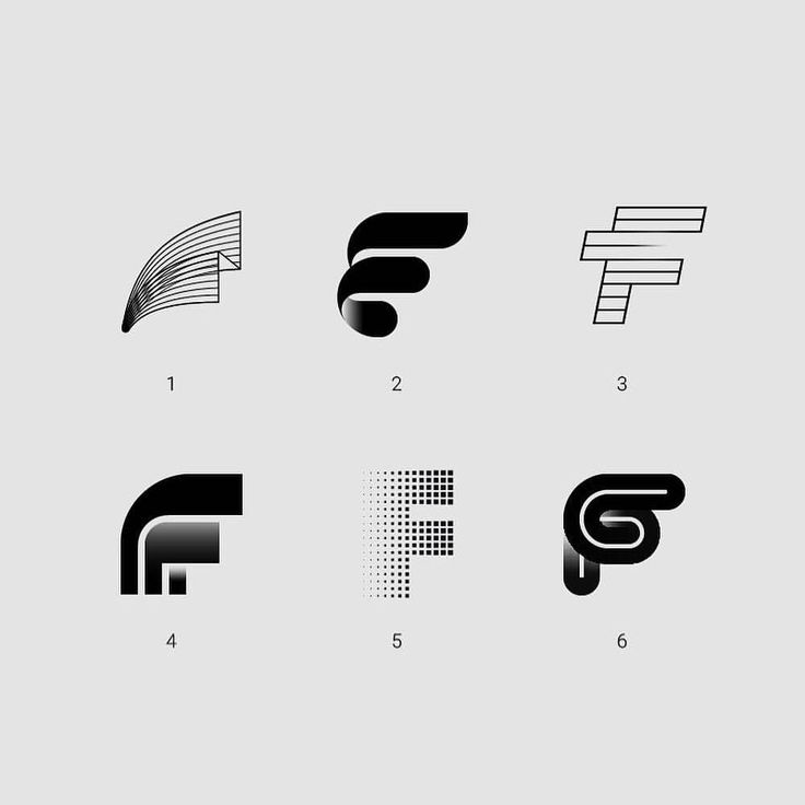 5,797 отметок «Нравится», 186 комментариев — @logolearn в Instagram: «Which one do you prefer? Mark (F) exploration created by Arthur B. @bauer.design Hashtag…»