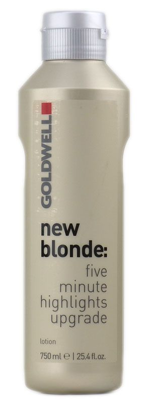 Goldwell New Blonde...A 5 minute color service that refreshes Hi-lites at the shampoo bowl... Love it!!