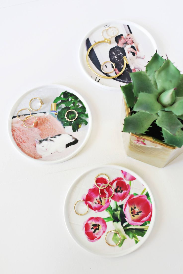 Photo ring dish DIY. Super easy to make! Working with @CanonUSA #CraftywithCanon