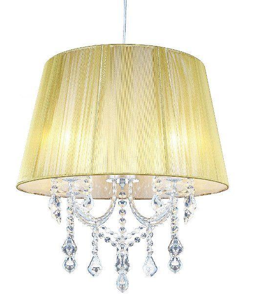 ARETTA-design cristallo lampadario con paralume luce lampadario Lampada ø50cm EURO 79,00