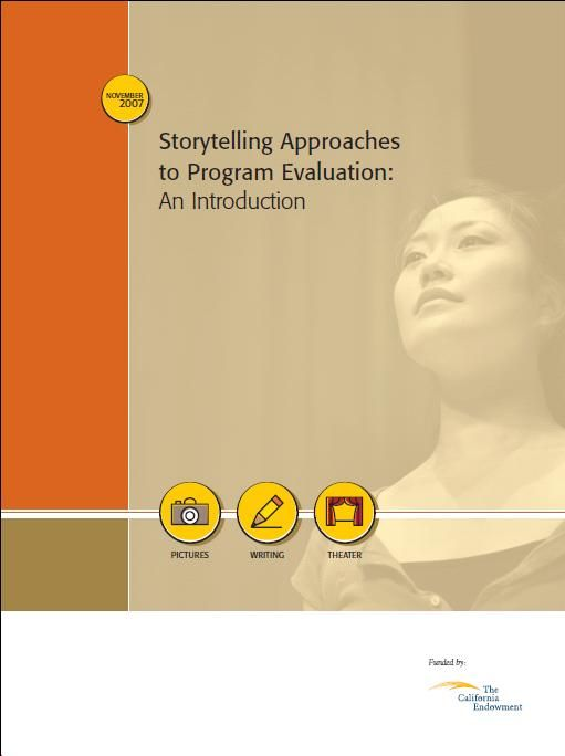 Storytelling approaches to program evaluation