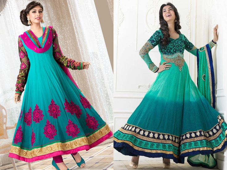 Latest Long Frock Designs For Ladies 2018-2019