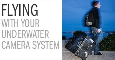 Flying With Your Underwater Camera System - 6 Tips To Ease Travel Stress