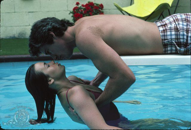 Still of Richard Gere and Valérie Kaprisky in Breathless.... One of his hottest rolls ever yep