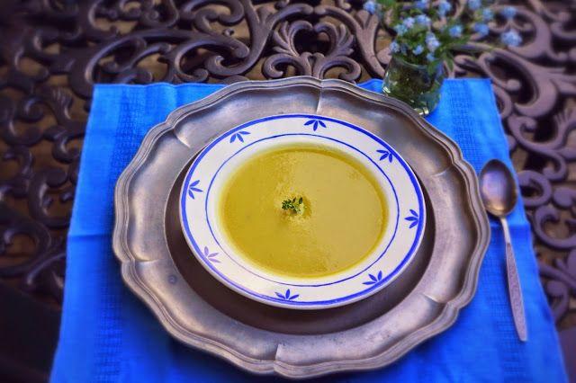 Ralu TeRa:Vegan creamy dreamy asparagus soup
