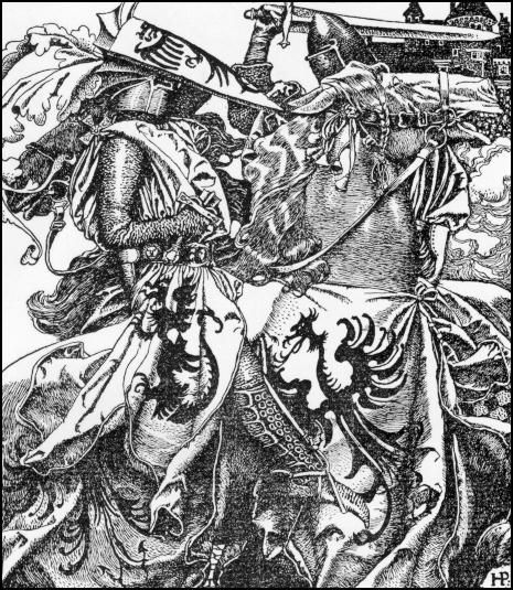 An analysis of the legend of king arthur and the knights of the round table