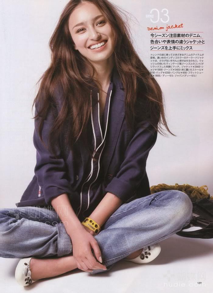 Jun Hasegawa (magazine & runway model)
