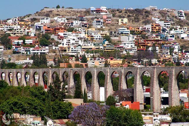 Aqueduct (Los Arcos) Queretaro Mexico