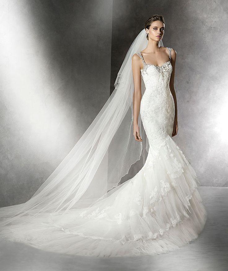 Dit zijn de mooiste fishtail jurken van het moment | In White