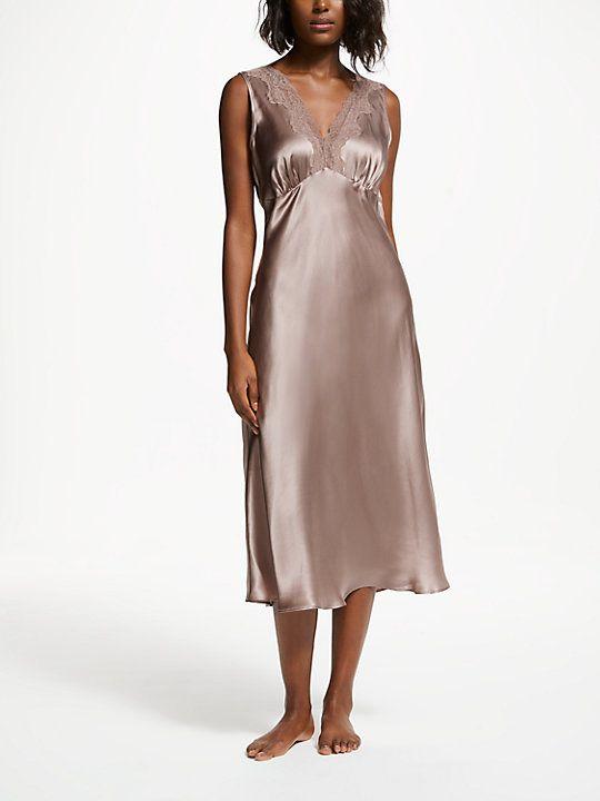 0514c430c1 John Lewis   Partners Silk Midi Nightdress