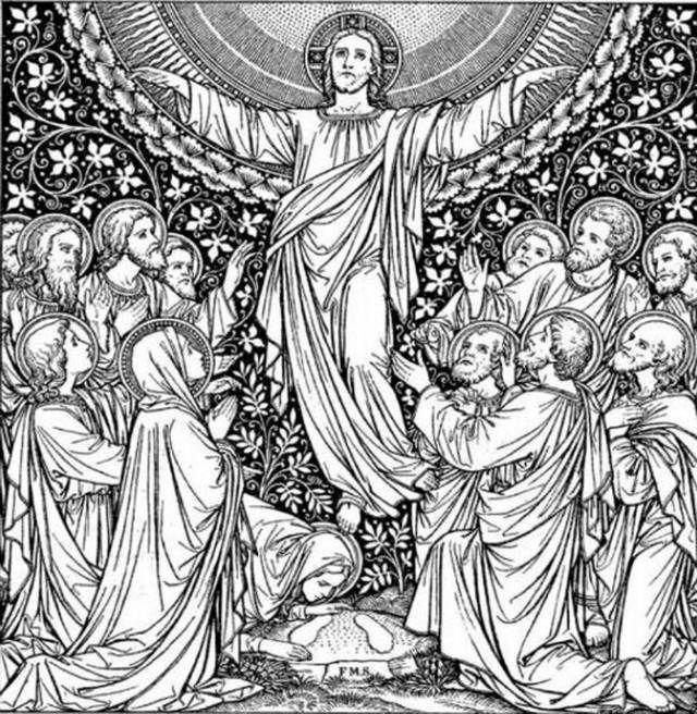 Religious Art: 619 Best Religious Line Art Images On Pinterest