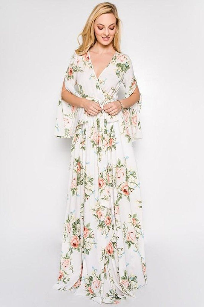0388a740d1d Pretty Floral Maxis to wear this Spring - Lucky   Co DRESSES
