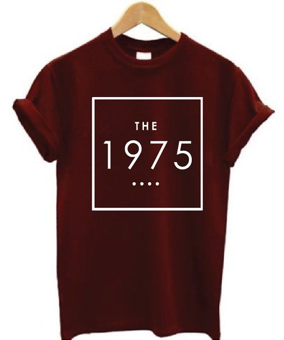 The 1975 logo Shirt by JadeTees on Etsy