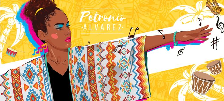 Girl Petronio - Vector design