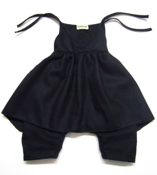 Odil overall with connected apron. By Anja Schwerbrock.Kids Style, Baby'S Toddlers Child, Attached Aprons, Child Style, Aprons Navy, Odile Navy, Overalls, Connection Aprons, Fashion Girls