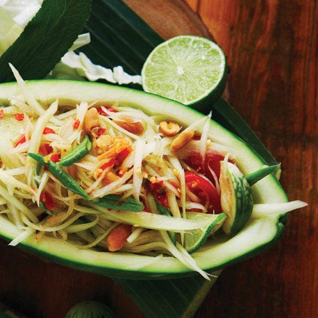 Toronto Life Cookbook 2012 Recipe: Papaya Salad  PREP TIME: 15 minutes Serves 2 to 4