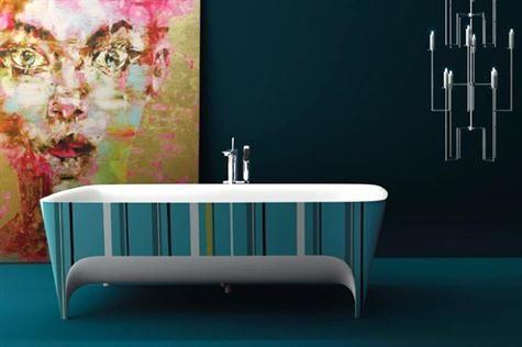 para un baño retro, una bañera retro! (y las #GrandesIdeas de #Teuco)