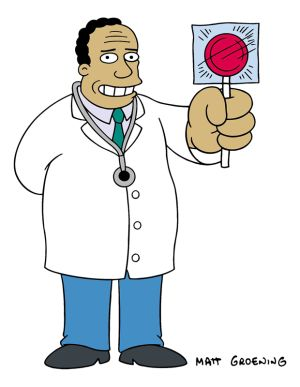 """Dr. Julius M. Hibbert, usually referred to as Dr. Hibbert, is a recurring character on the animated series The Simpsons. His speaking voice is provided by Harry Shearer and his singing voice was by Thurl Ravenscroft, and he first appeared in the episode """"Bart the Daredevil"""". Dr. Hibbert is Springfield's most prominent and competent doctor, though he sometimes makes no effort to hide or makes light of his high prices. Dr. Hibbert is very good-natured, and is known for finding a reason to…"""