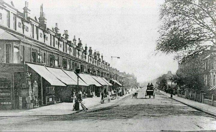 Boundary Road, Portslade, Brighton. 1900