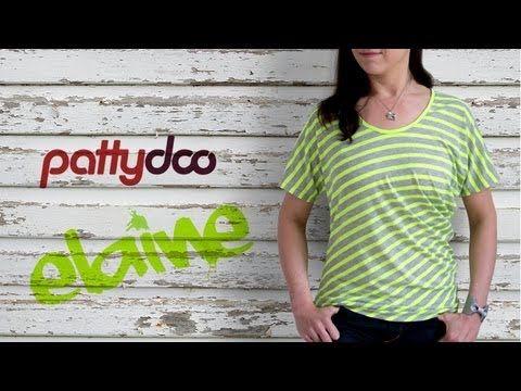 Shirt selber nähen - Anleitung; pattydoo tutorial # 8
