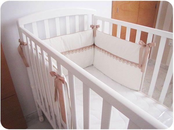 chichonera cuna DIY 9 Cómo hacer una chichonera para cuna de bebé   DIY