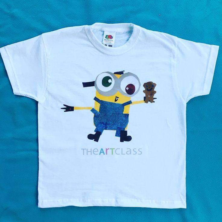 Minion tshirt by Emilia aged 5