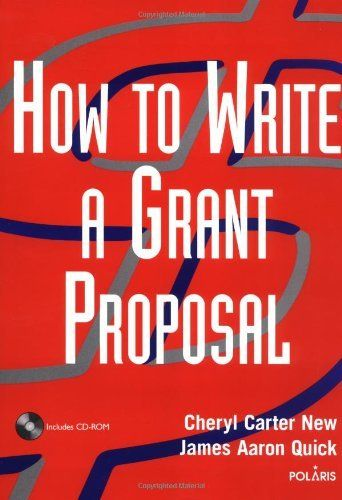 How to Write a Grant Proposal (Wiley Nonprofit Law, Finance and Management Series) by Cheryl Carter New. $45.00. Author: Cheryl Carter New. Publisher: Wiley (March 13, 2003). Publication: March 13, 2003. Save 25% Off!