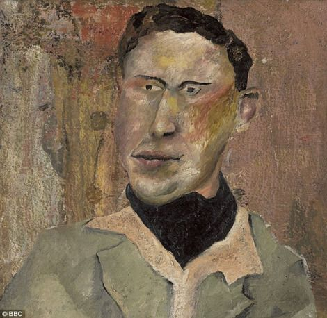 Lucian Freud, Man in a black cravat (1939)  Freud denied he painted this, but Fake Or Fortune, a BBC television show BBC, has attributed the painting (pictured) to the acclaimed portrait artist. Perhaps he didn't paint the whole canvas. on ArtStack #lucian-freud #art