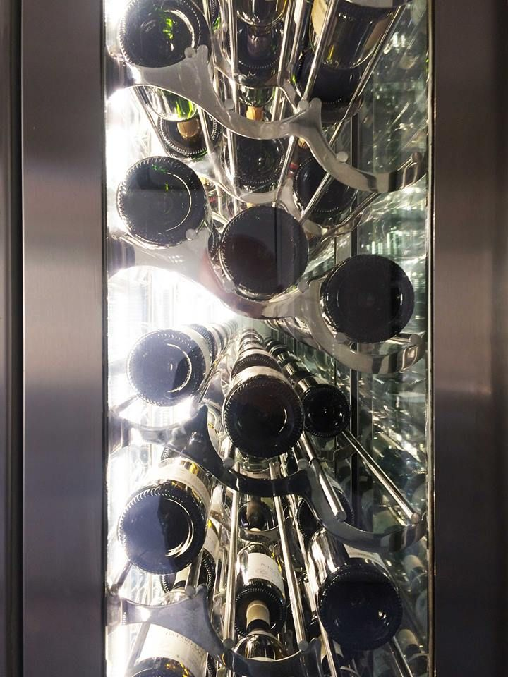 """for a Marvellous Home of italian customer """"Lauro Ghedini Designer"""" have designed a incredible Wine Cellar for Incredible Italian Wine"""
