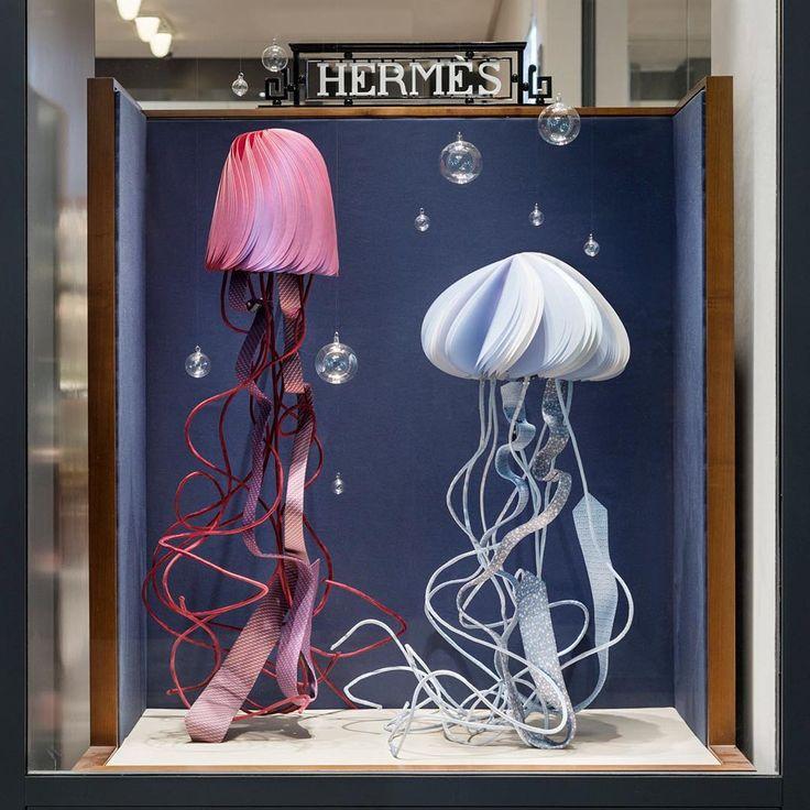 "HERMES, Stockholm, Sweden, ""The ocean stirs the imagination"", creative by Joann Tan Studio, pinned by Ton van der Veer"