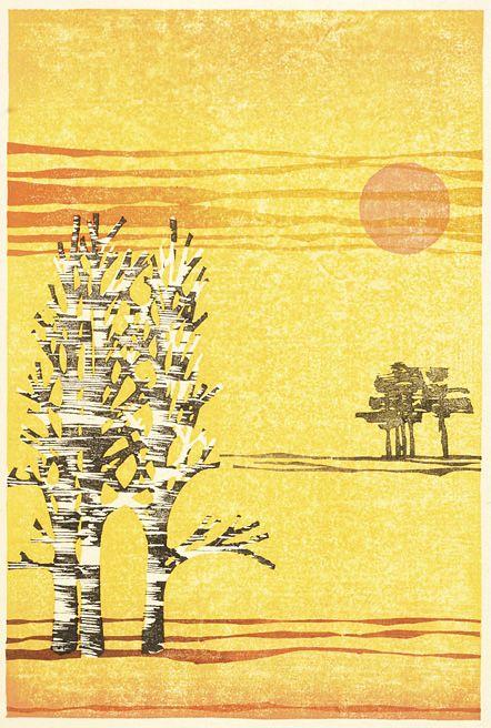 : : Laura Boswell - Printmaker : : woodblock