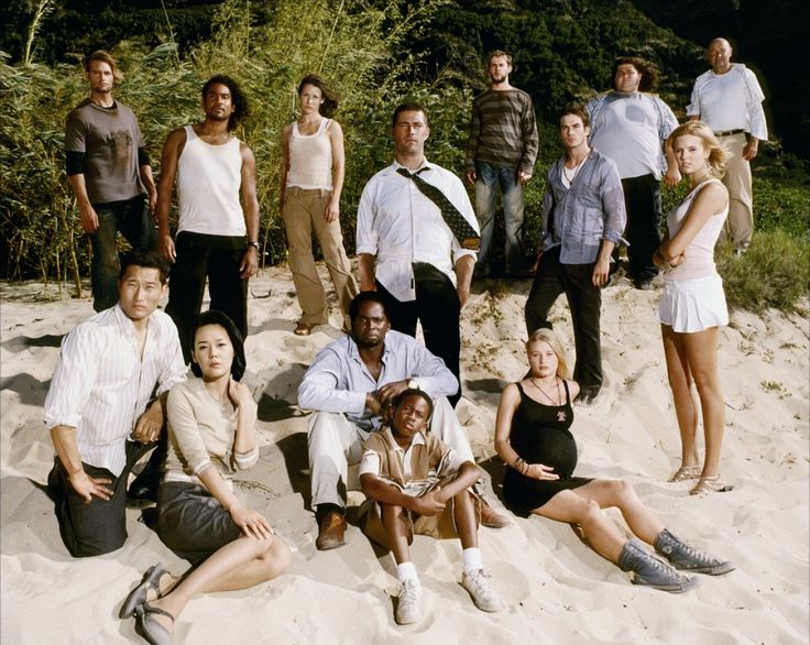 LOST (TV) ... Matthew Fox - Jorge Garcia - Maggie Grace - Malcolm David Kelley - Evangeline Lilly - Ian Somerhalder