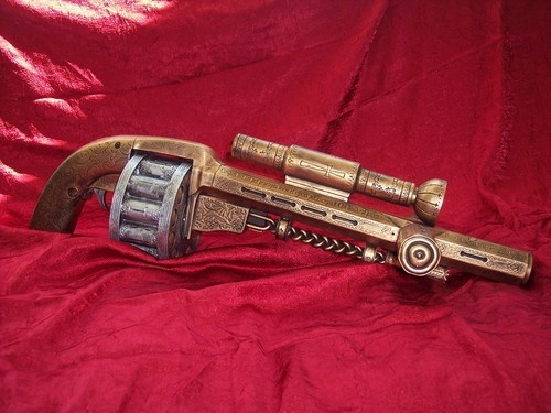 steampunk shotgun