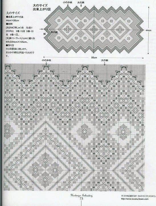 Gallery.ru / Фото #10 - Hardanger Embroidery(япония) - Orlanda