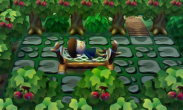 Resting in my forest terrace