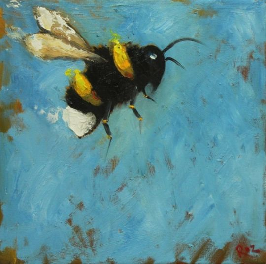 Bee ~ this would make a beautiful fused glass panel