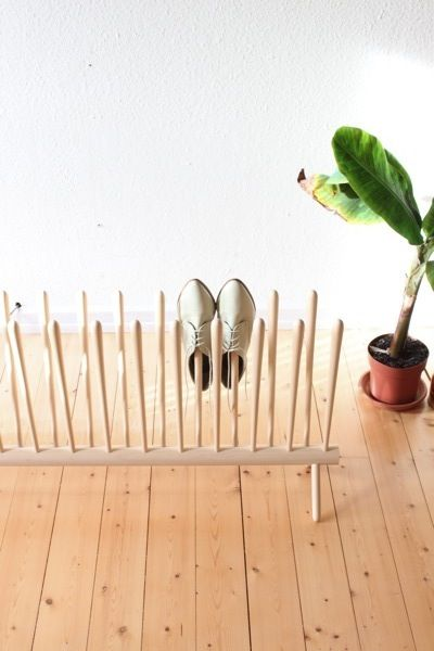 Shoe Shelf by sebastian goldschmidtboing