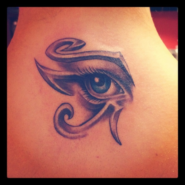 Evil eye tattoo | evil eye tattoos | Pinterest | On back ...