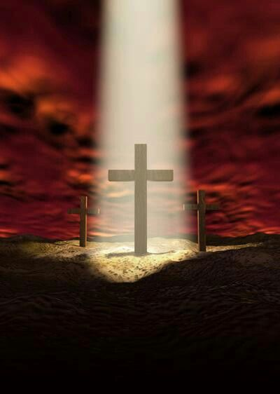 There is only one way: Through the blood of Jesus Christ.❤️