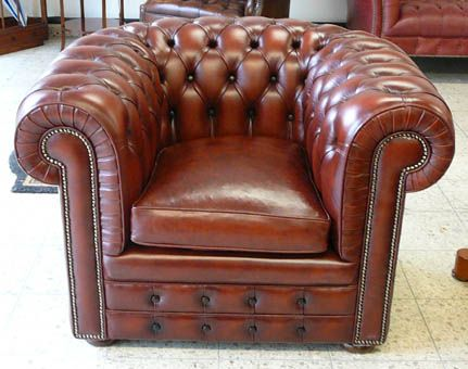 DER Clubsessel der Extraklasse: Classic De Luxe Chesterfield Chair