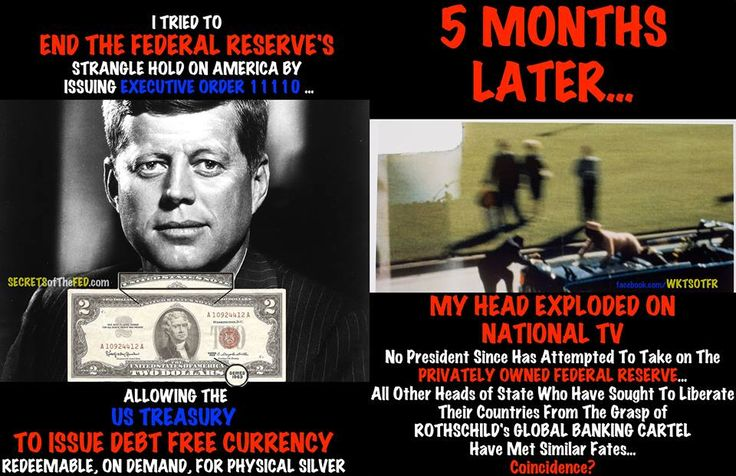 THE TRUTH ABOUT JFK & EXECUTIVE ORDER 11110  http://www.secretsofthefed.com/the-truth-about-jfk-and-executive-order-11110/