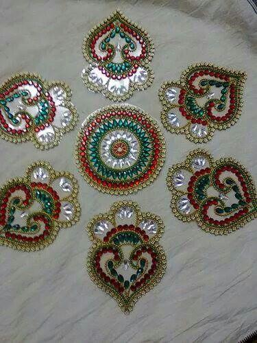 Mehndi Designs Rangoli : Best kundan rangoli images on pinterest mandalas