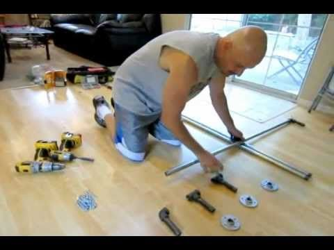 How to build a 3 station P90X pull up bar