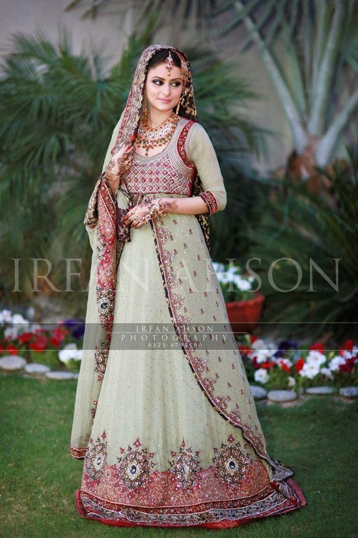 53 White Cream Inspirational Pakistani Bridal Outfits