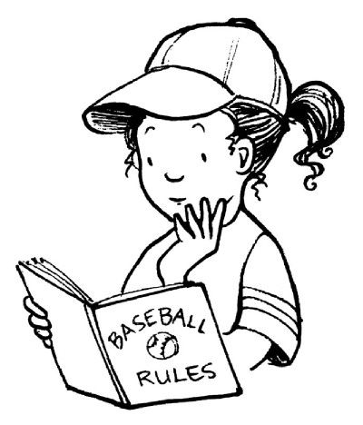 Baseball activities for kids! Learn more about the rules of the game and hone your skills!