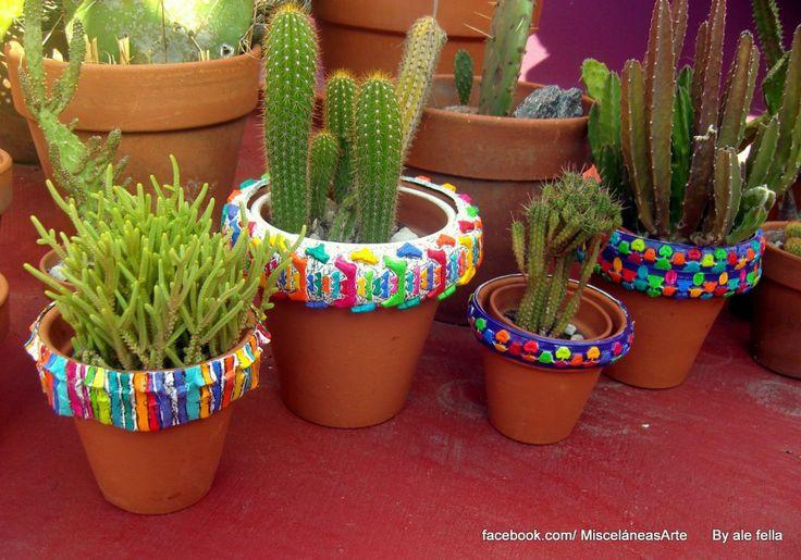 Vinzon Decoracion Jardines ~ Eco Dise?o Bici Macetas Macetas realizados con detalles de